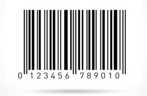card con bar code codice a barre